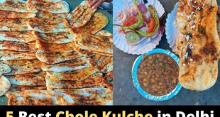 Best Chole Kulche and Matar Kulche in Delhi